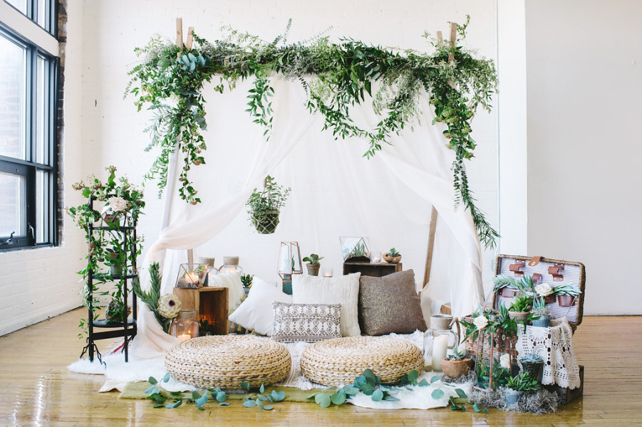 Featured: Green Wedding Shoes | Bohemian Love